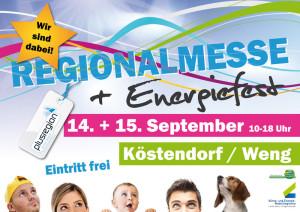 Regionalmesse Köstendorf - wir sind dabei!